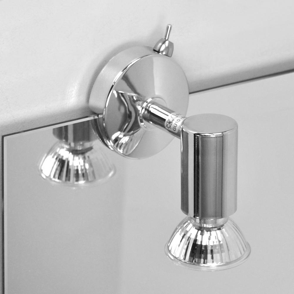Clairage miroir salle de bain applique murale luminaire for Applique murale miroir