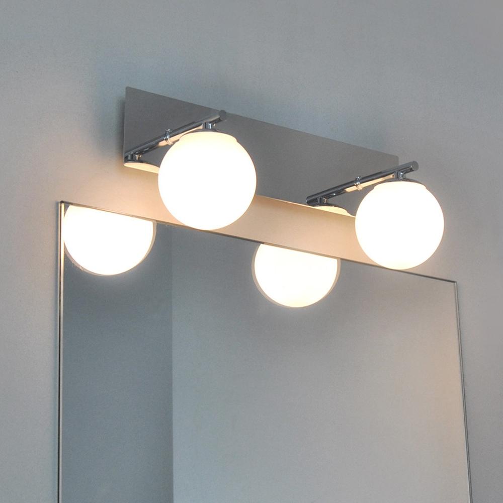 Lampe pour salle de bain clairage miroir applique murale for Applique murale miroir