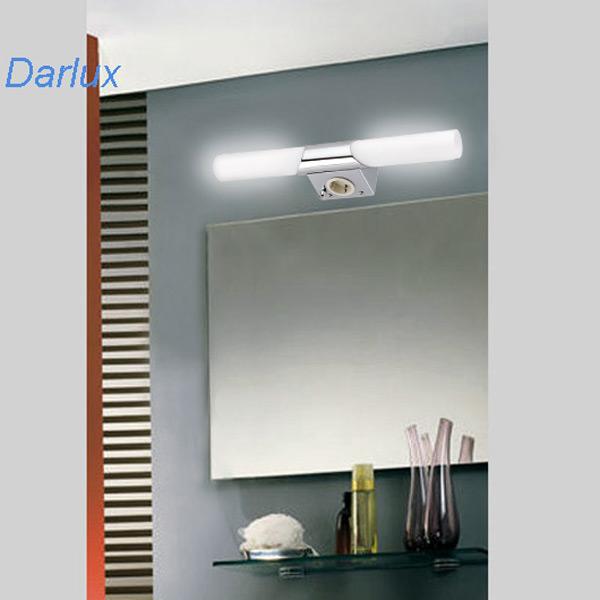 Luce bagno lampada parete 45cm specchio male led possibile briloner 2192 028 ebay - Lampada sopra specchio bagno ...