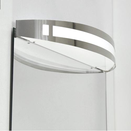 Clairage miroir salle de bain briloner 2196 018 applique for Applique murale miroir