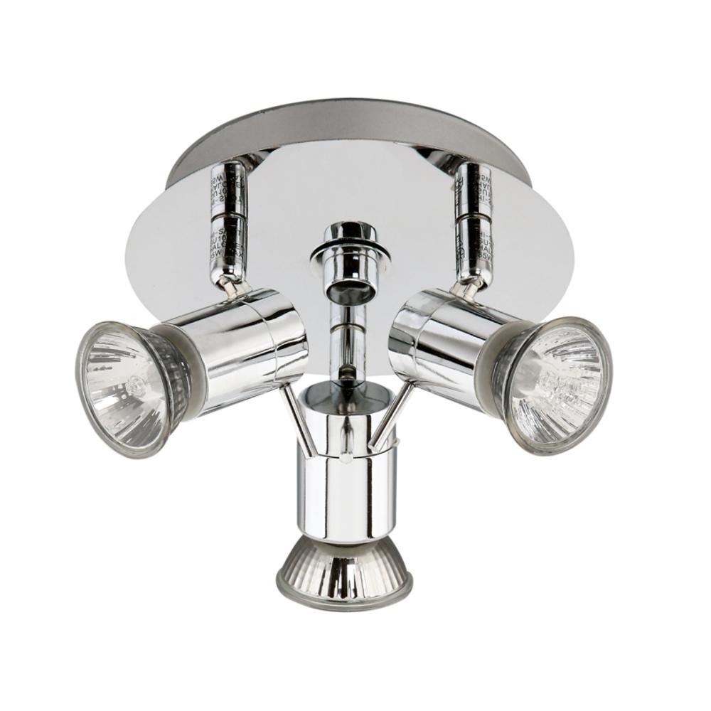 Luminaire de salle bain lampe plafonnier rondell 35w for Lampe pour salle de bain
