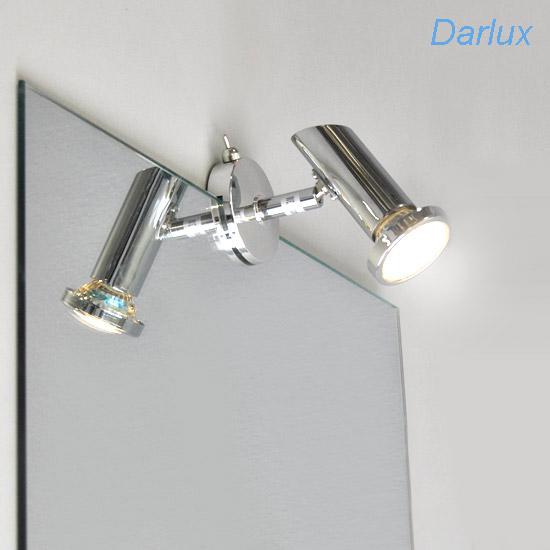 led spiegelleuchte badleuchte 2248018 briloner splash. Black Bedroom Furniture Sets. Home Design Ideas