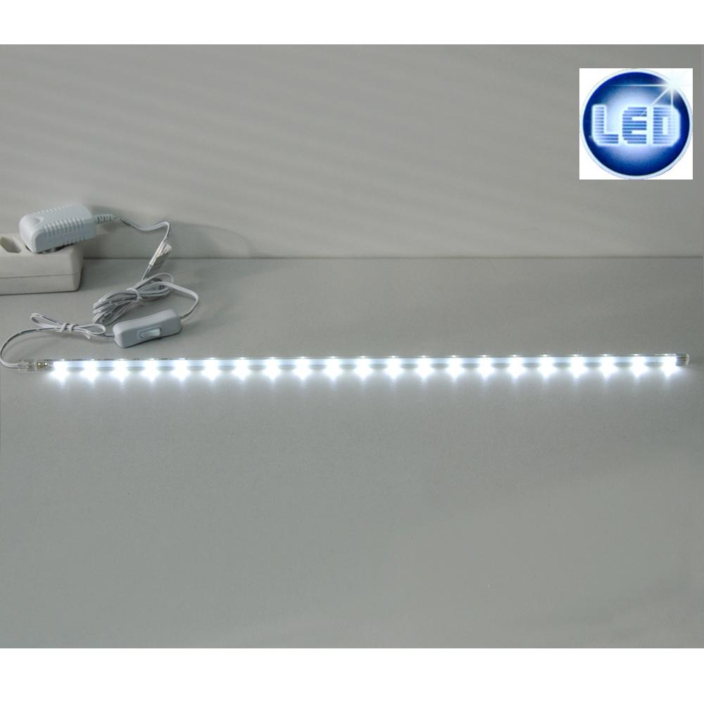 Led listello luminoso lampada sottopensile 56cm cucina - Strisce led per bordo piscina ...
