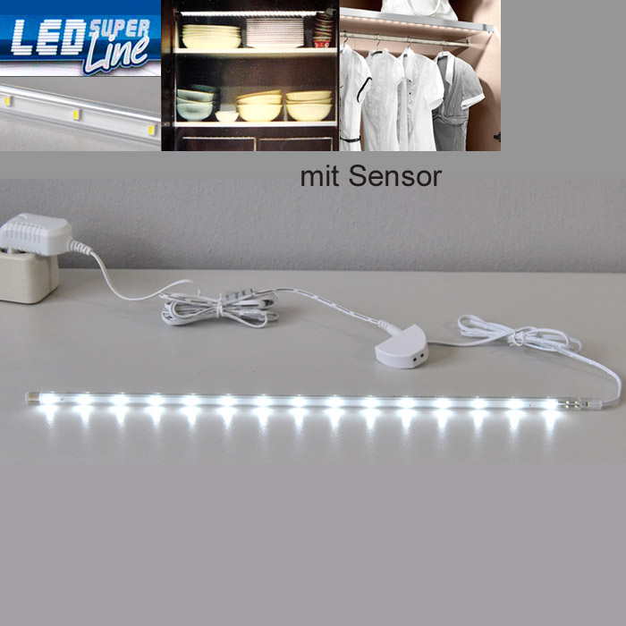 led lichtleiste sensor schrank k che beleuchtung 2346 150s briloner leiste strip ebay. Black Bedroom Furniture Sets. Home Design Ideas