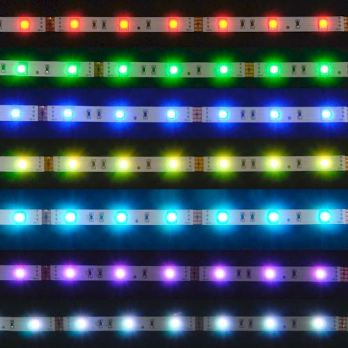 30 led lichtband farbwechsel briloner 2448 300 strips 1m leiste neu ebay. Black Bedroom Furniture Sets. Home Design Ideas