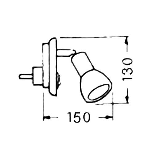 steckdosenlampe steckerlampe steckerleuchte e14 led sparlampe m gl wei neu ebay. Black Bedroom Furniture Sets. Home Design Ideas