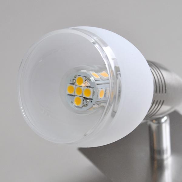 led wandleuchte wandlampe power spot deckenlampe energiespar leselampe schalter ebay. Black Bedroom Furniture Sets. Home Design Ideas