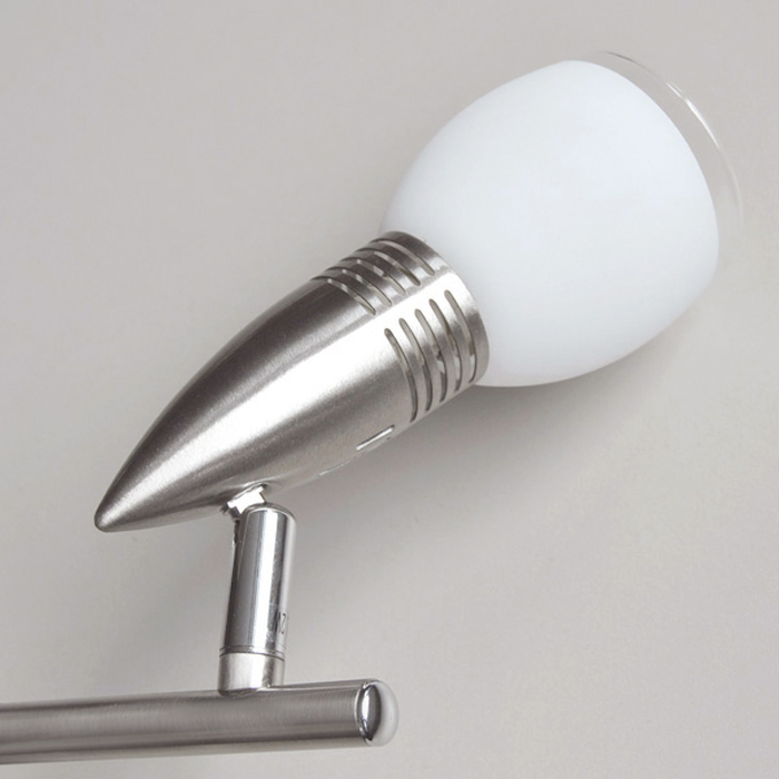Deckenleuchte spot leiste 48 5cm briloner eco halogen for Halogen deckenlampe