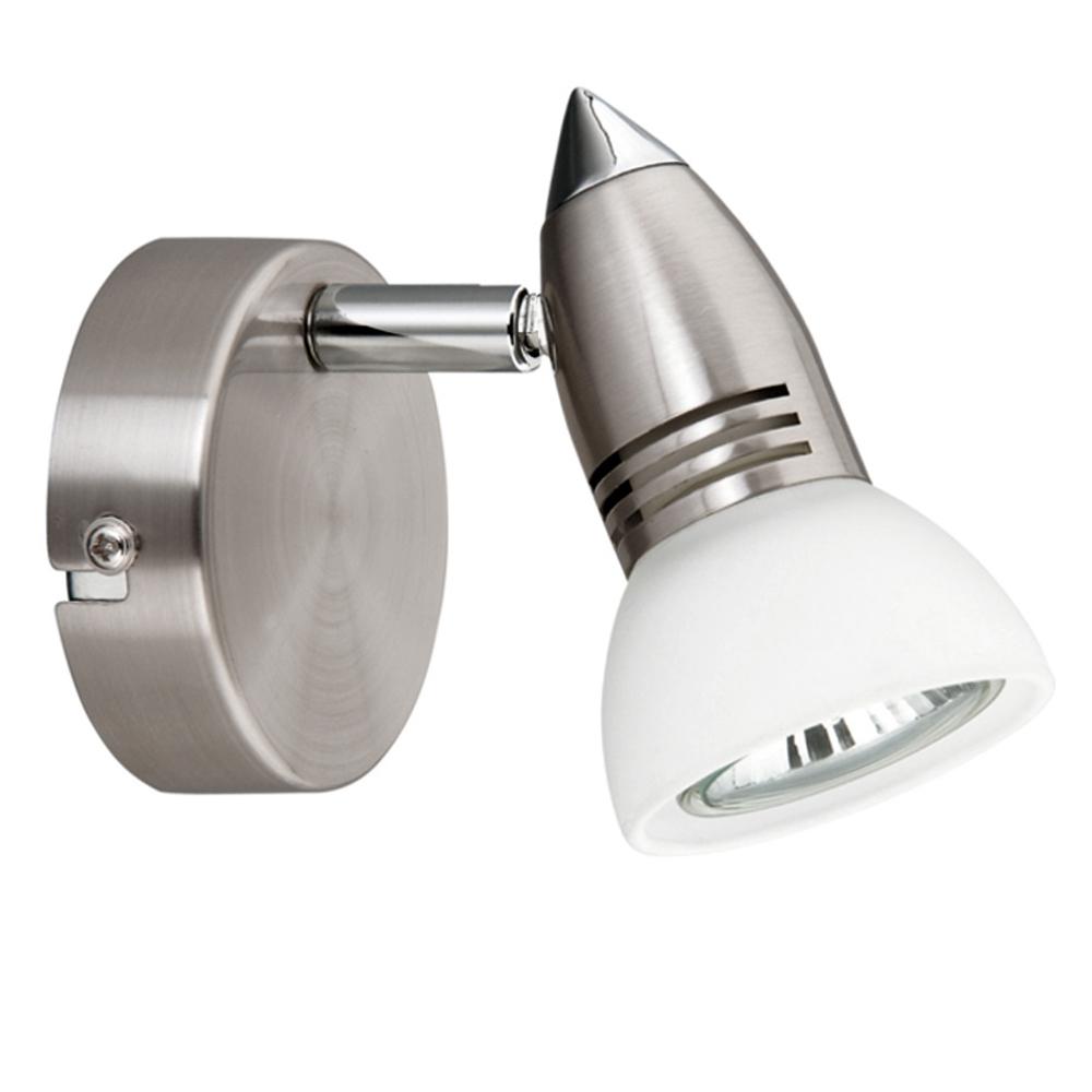 wandlampe deckenleuchte wandleuchte spot strahler halogen oder led m glich. Black Bedroom Furniture Sets. Home Design Ideas