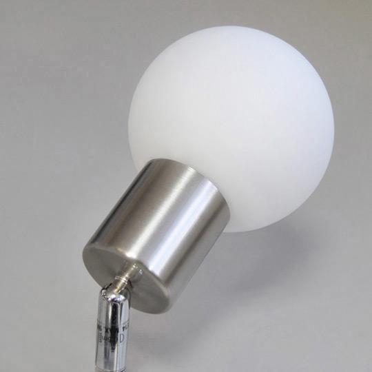Plafoniera 9W Lampade a risparmio energetico plafoniera Sfera di vetro bianco,   eBay -> Lampade A Led Quanto Risparmio