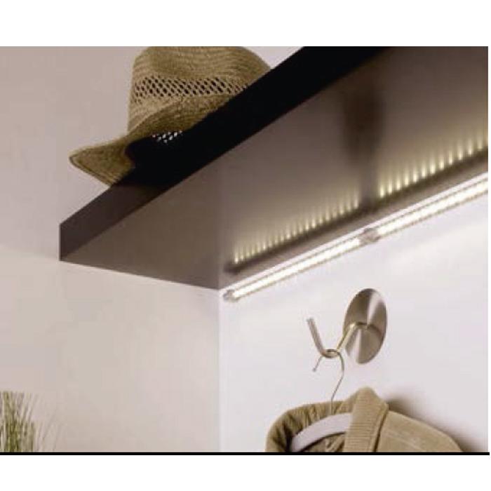 led lichtleiste unterbauleuchte bilderleuchte economytec strips profil leiste ebay. Black Bedroom Furniture Sets. Home Design Ideas