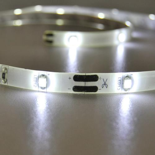 led lichtband 2 5m unterbauleuchte lichtleiste ip44 strips. Black Bedroom Furniture Sets. Home Design Ideas