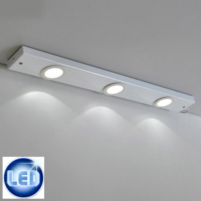 luce sopra mobile : lampada LED sottopensile Luce bagno da cucina Barra luminosa Briloner ...