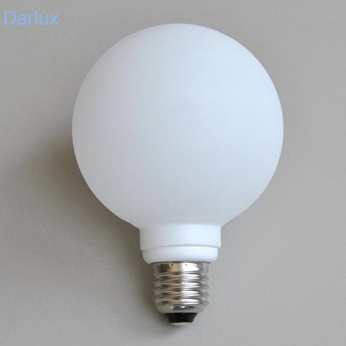 1x Energiesparlampe mit Glas 9312-110  E27 10W Briloner Economy