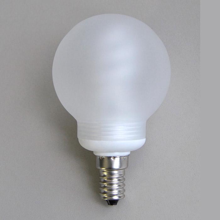 energiesparlampe e14 6w mit glas lampenschirm glaskugel e. Black Bedroom Furniture Sets. Home Design Ideas