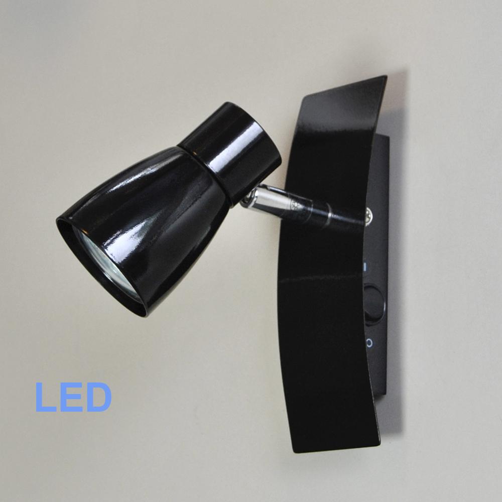 led spot wandleuchte deckenleuchte 55799903 fli mit 3w gu10 led. Black Bedroom Furniture Sets. Home Design Ideas