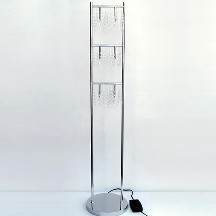 Stehlampe dimmbar echtglaskristallen luxus stehleuchte - Stehlampe mit kristallen ...