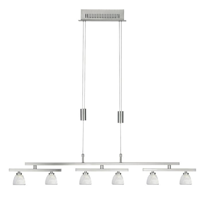 darlux pendelleuchte h henverstellbar 11636 fischer leuchten. Black Bedroom Furniture Sets. Home Design Ideas