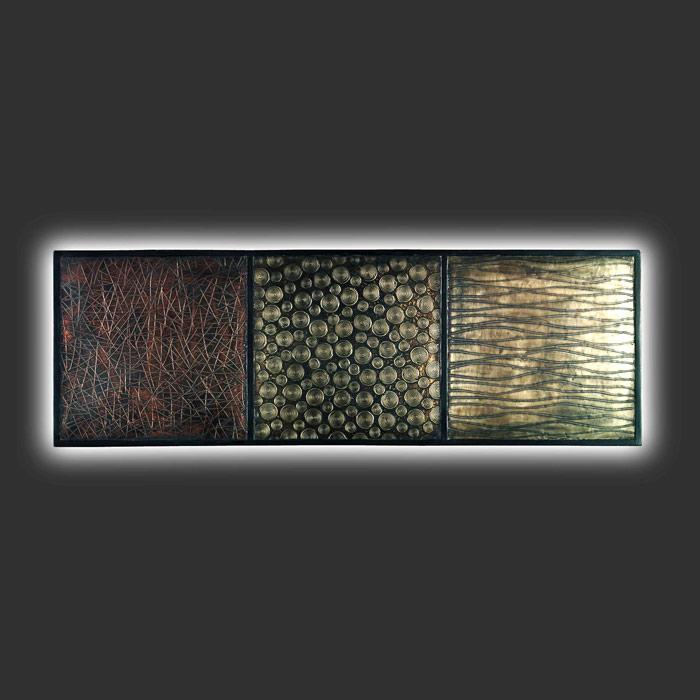 luxus wandleuchte bronze 90x30cm wandlampe shine neu ebay. Black Bedroom Furniture Sets. Home Design Ideas