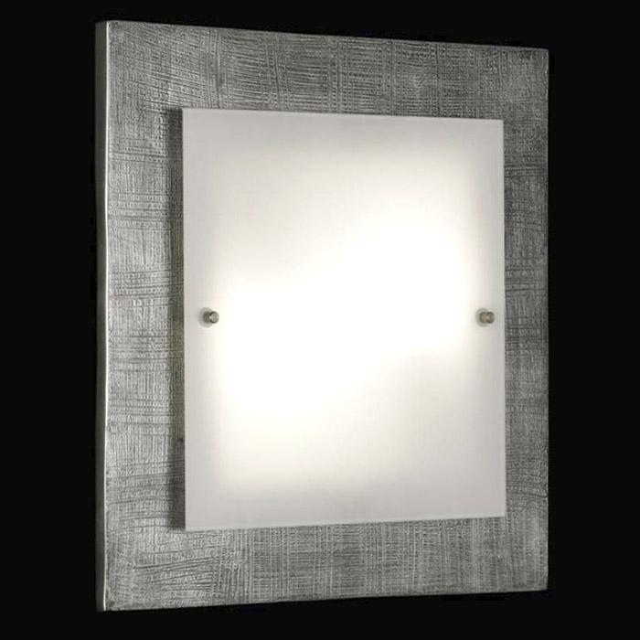 deckenlampe 32x32cm deckenleuchte wandleuchte fischer leuchten 14362 shine ebay. Black Bedroom Furniture Sets. Home Design Ideas