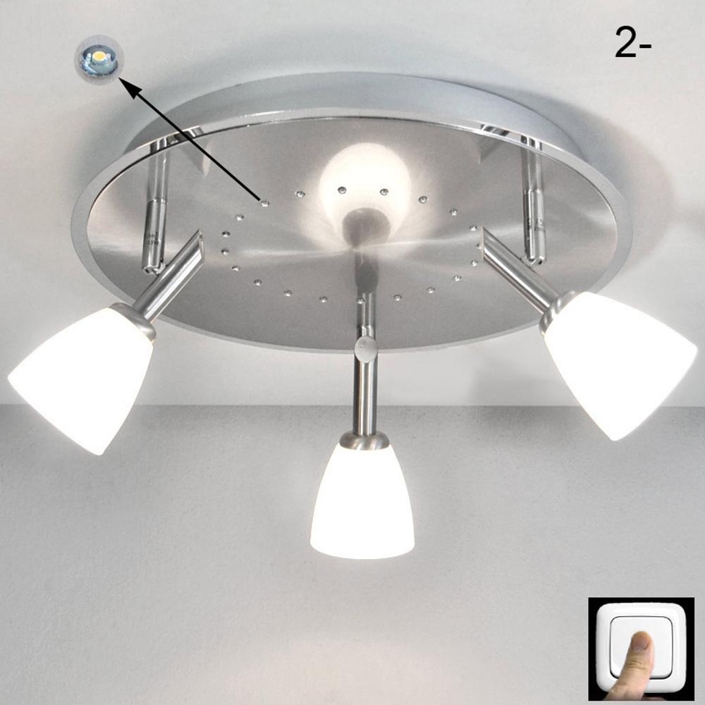 deckenleuchte led sternenhimmel deckenlampe 35cm 20xled s osram eco halogen ebay. Black Bedroom Furniture Sets. Home Design Ideas