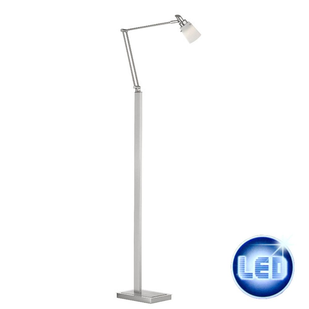 led stehleuchte 43841 fischer leuchten 4w citizen power led gelenkarm stehlampe ebay. Black Bedroom Furniture Sets. Home Design Ideas