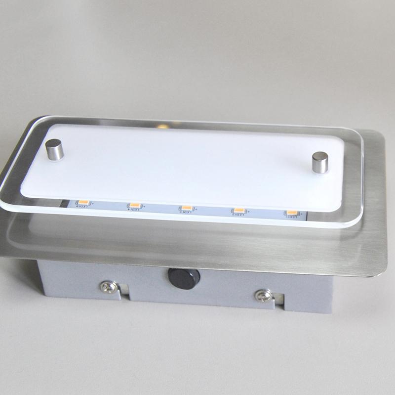 Wandleuchten led fli fischer leuchten 20cm deckenleuchte wandlampe mit schalter ebay - Led wandlampe mit schalter ...