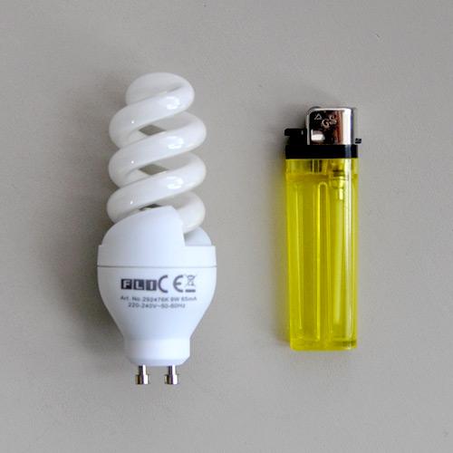 energiesparlampe gu10 9w warmwei sparlampe gu 10 9 w neu. Black Bedroom Furniture Sets. Home Design Ideas