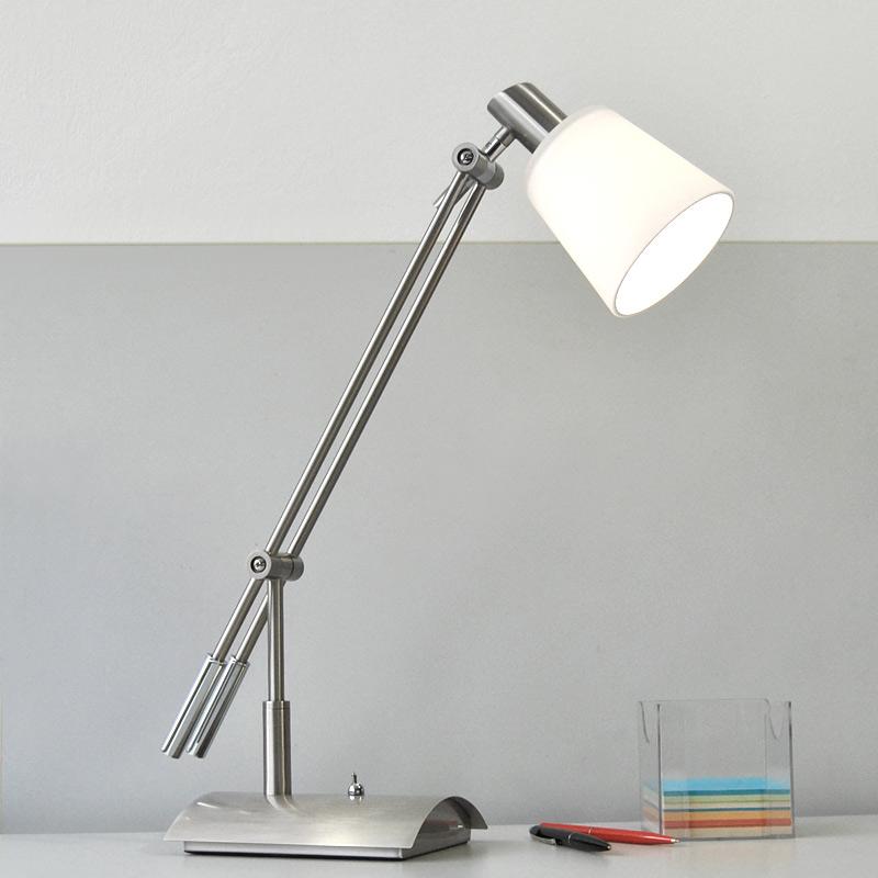 schreibtischlampe fischer leuchten schreibtischleuchte b ro tischleuchte ebay. Black Bedroom Furniture Sets. Home Design Ideas