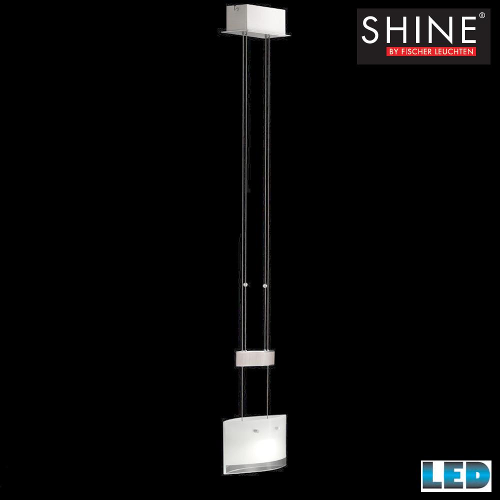 lampada led a sospensione regolabile in altezza 48391 fischer leuchten shine ebay. Black Bedroom Furniture Sets. Home Design Ideas