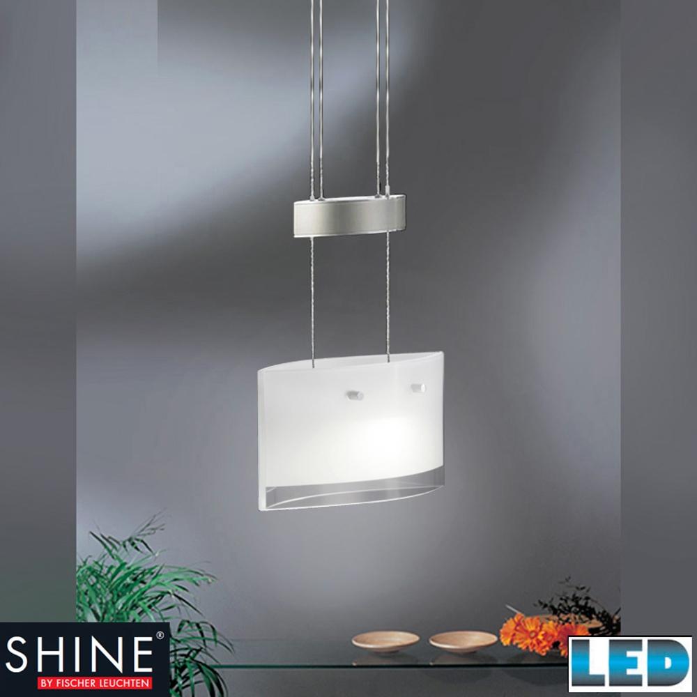led pendelleuchte h heneinstellbar 48391 fischer leuchten shine. Black Bedroom Furniture Sets. Home Design Ideas