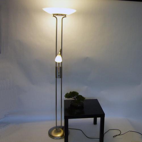 fischer 60532 deckenfluter energiesparlampen dimmbar. Black Bedroom Furniture Sets. Home Design Ideas