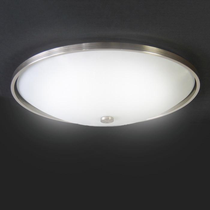Deckenleuchte 6 flamm glas luxus deckenlampe 57cm for Runde deckenlampe
