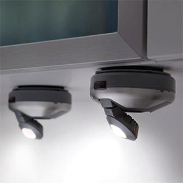 3 set led spot strahler unterbauleuchte wandleuchte. Black Bedroom Furniture Sets. Home Design Ideas
