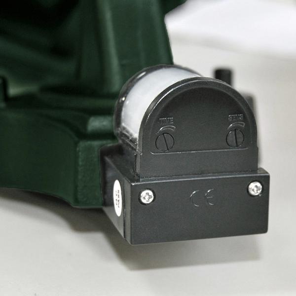 au enleuchte wandleuchte konstsmide 7236 600 firenze gr n sensor mz. Black Bedroom Furniture Sets. Home Design Ideas