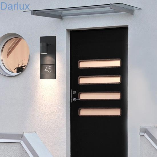 wandleuchte hausnummer beleuchtung au enleuchte wandlampe wand lampe leuchten ebay. Black Bedroom Furniture Sets. Home Design Ideas