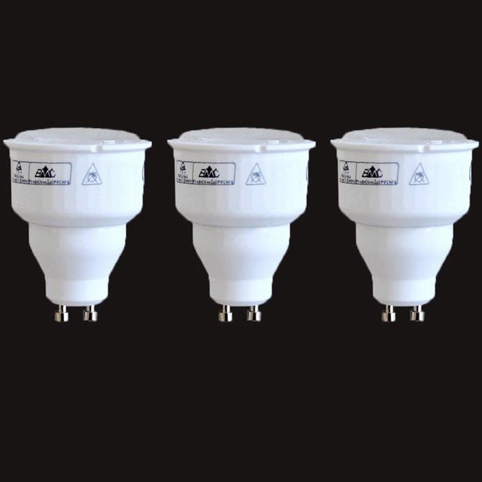 3 set energiesparlampen 9w gu10 sparlampen 2700k warmwei 9 w gu 10 neu ebay. Black Bedroom Furniture Sets. Home Design Ideas