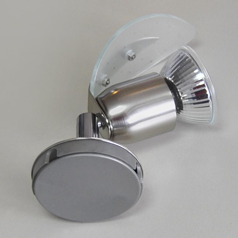 1x schienen system lampe spot schienensystem stangen leuchte led geeignet glas ebay. Black Bedroom Furniture Sets. Home Design Ideas