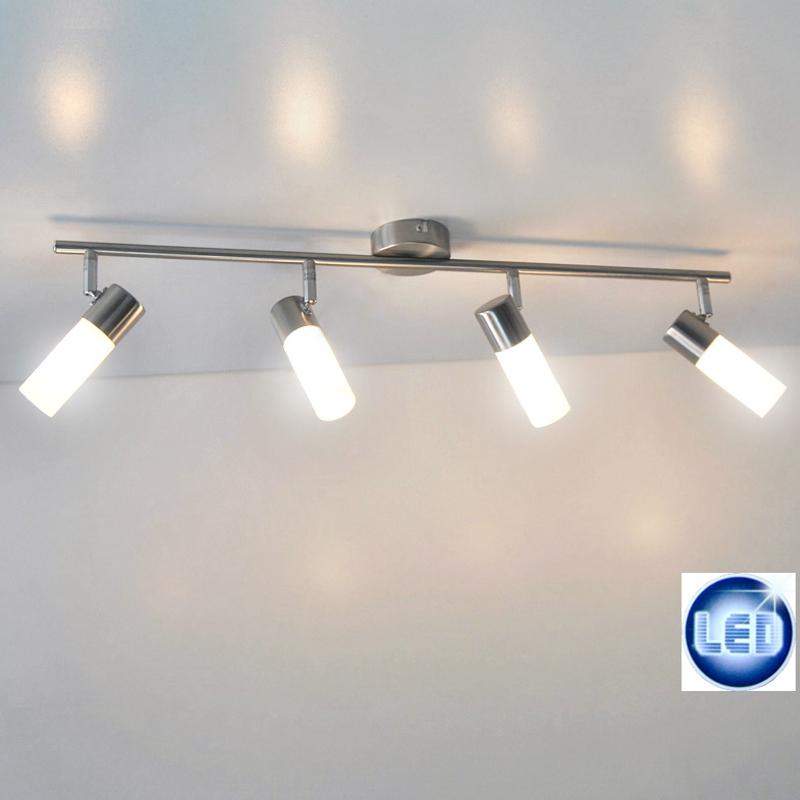 Led deckenleuchte briloner prisma leuchten 55202001 mit 4x for Deckenleuchte mit led