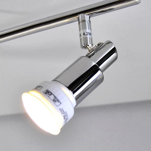 Deckenleuchte chrom deckenlampen led halogen oder
