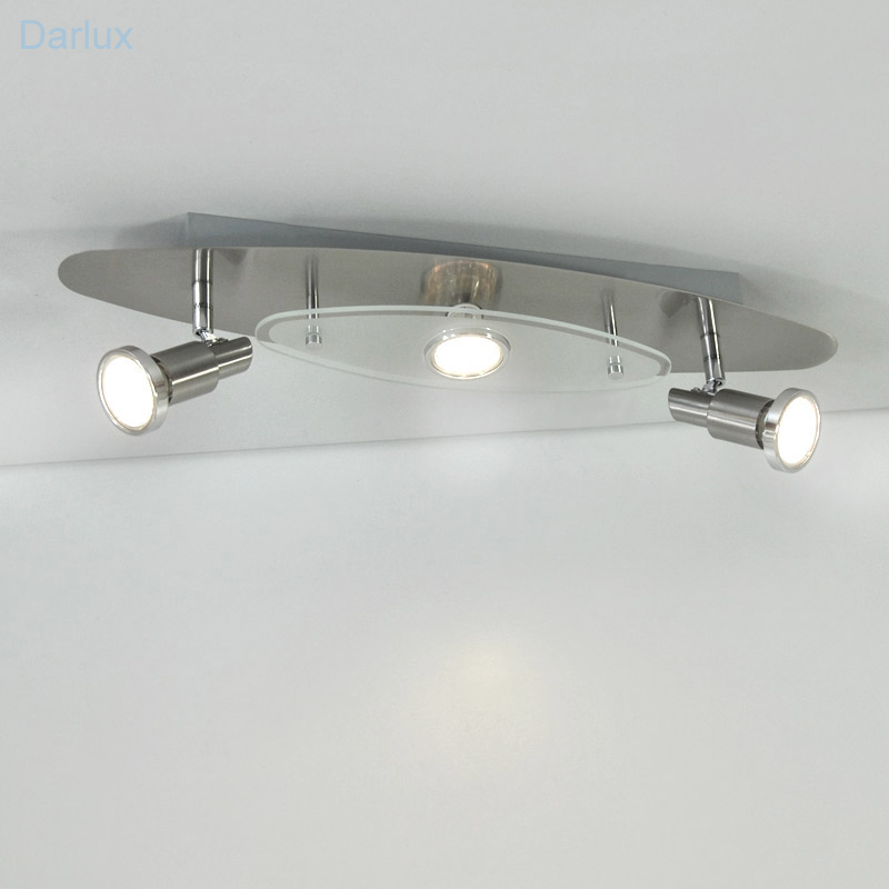 Deckenleuchte LED Deckenlampe Helle Power LED Edelstahl