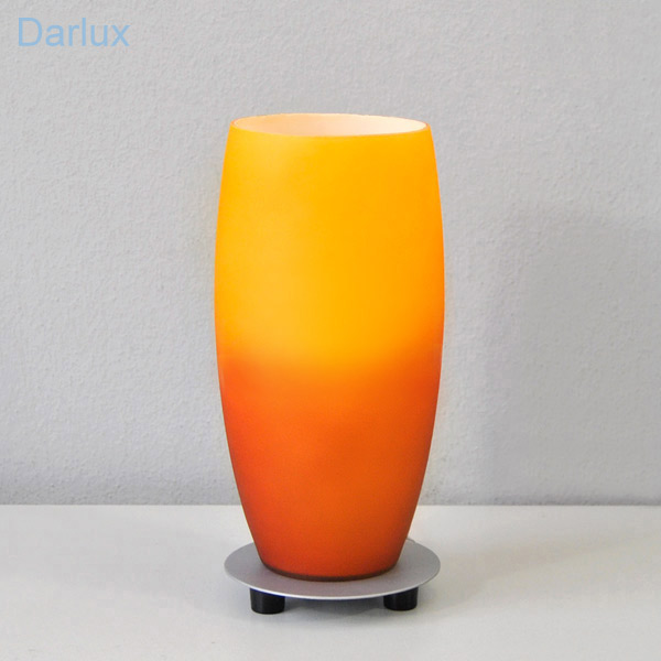 lampe de chevet table 100 design table de chevet verre jaune orange ebay. Black Bedroom Furniture Sets. Home Design Ideas