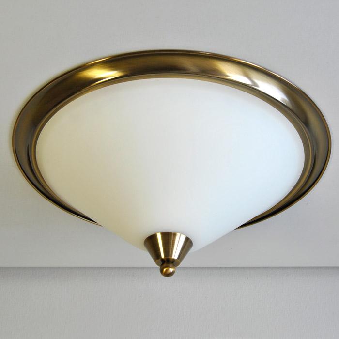 Deckenleuchte 47cm deckenlampe rund 125400 old america for Deckenlampe rund
