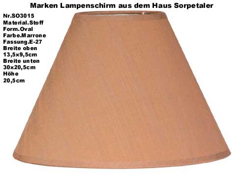 Lampenschirm stoffschirm stehlampe tischlampe braun ebay for Lampenschirm tischlampe