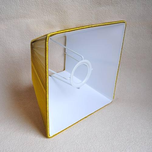 lampenschirm sorpetaler leuchten sss quadrat gold. Black Bedroom Furniture Sets. Home Design Ideas