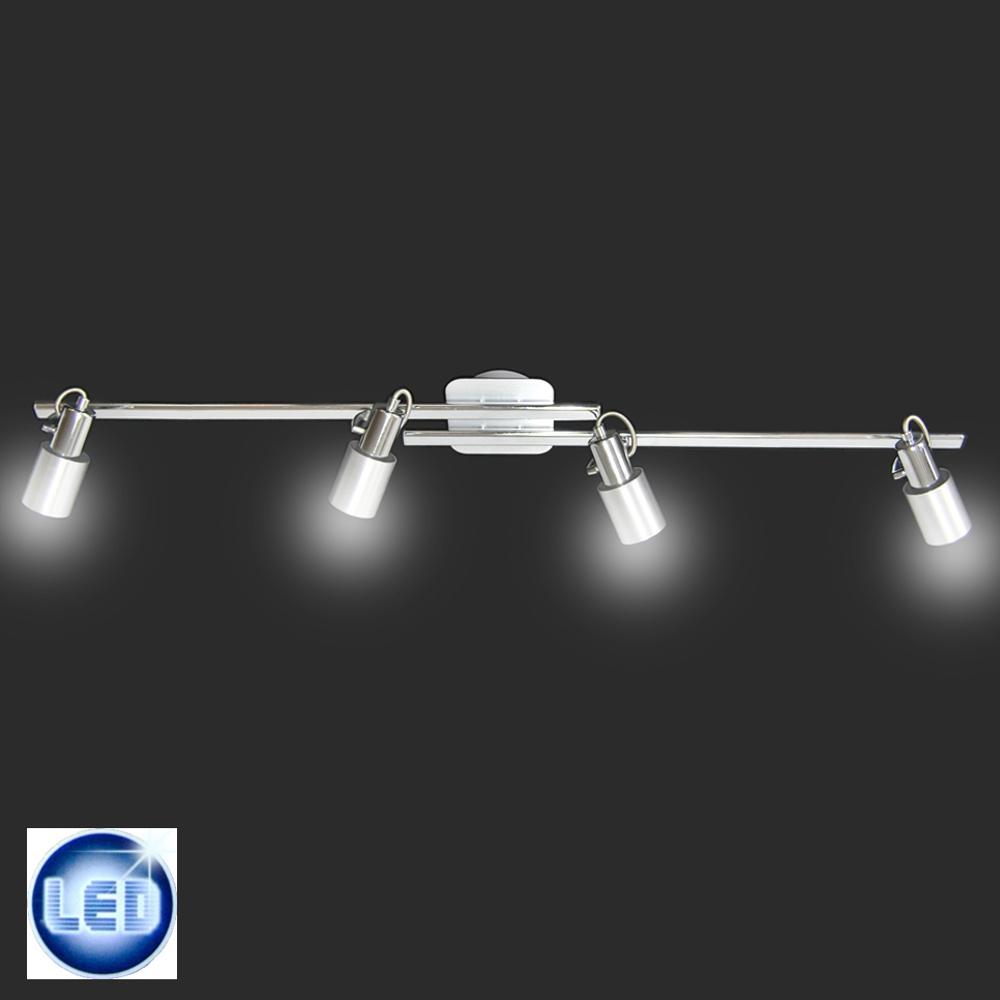 led deckenleuchte eglo 55004265 mit 4x 5w gu10 led. Black Bedroom Furniture Sets. Home Design Ideas