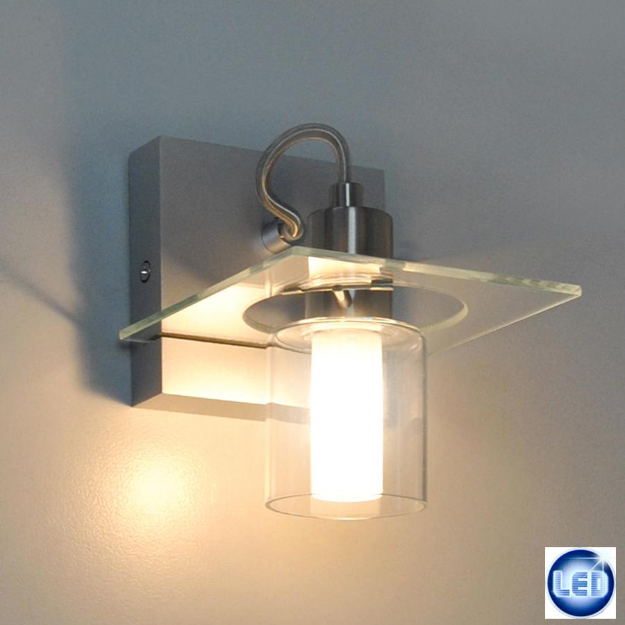 led wandleuchte eglo 5w led designer wandlampe wohnzimmer. Black Bedroom Furniture Sets. Home Design Ideas