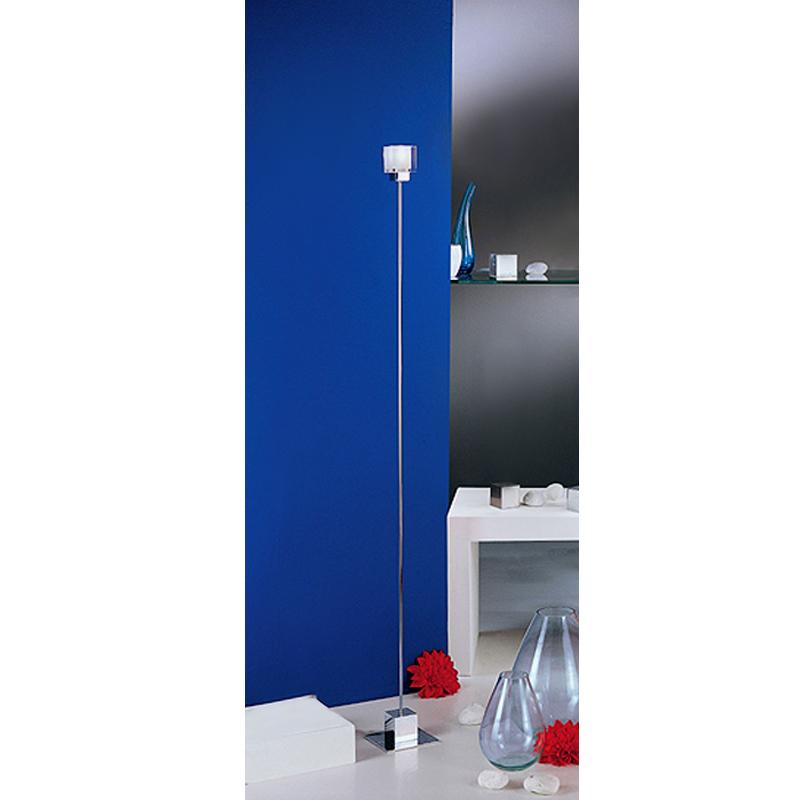 stehleuchte led 5w g9 eglo designer stehlampe mit kabel schalter standardlampe ebay. Black Bedroom Furniture Sets. Home Design Ideas