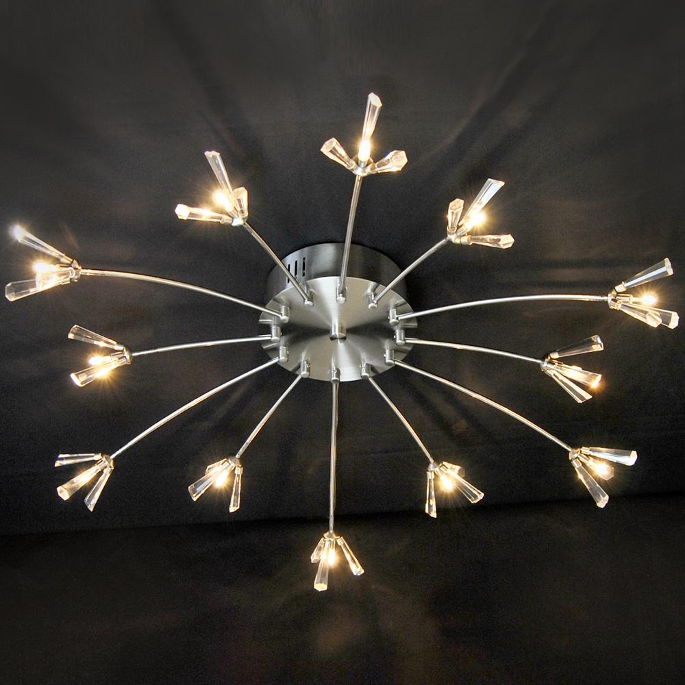 deckenleuchte 77cm bleikristall deckenlampe eglo halogen led m glich kristall ebay. Black Bedroom Furniture Sets. Home Design Ideas