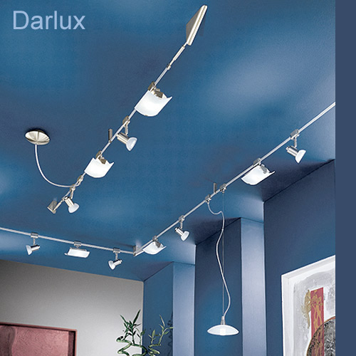 led seilsystem leuchten lampen spot strahler lampe pendel erweiterung zubeh r ebay. Black Bedroom Furniture Sets. Home Design Ideas